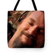 Jeff Bridges As The Dude Tote Bag