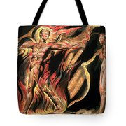 Jerusalem The Emanation Of The Giant Albion Tote Bag by William Blake