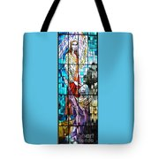 Jesus Healing The Blind Man Tote Bag