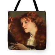 Jo The Beautiful Irish Girl Tote Bag