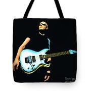 Joe Satriani Painting Tote Bag