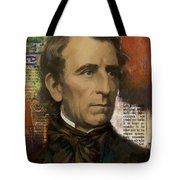 John Tyler Tote Bag by Corporate Art Task Force