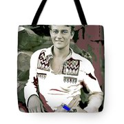 John Wayne In Buckskins The Big Trail 1930-2013 Tote Bag