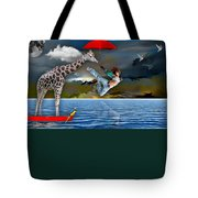 Journey Tote Bag by Marvin Blaine