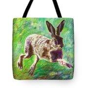 Joyful Hare Tote Bag