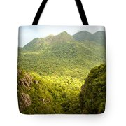Jungle Landscape Tote Bag