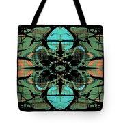 Kaleidoscope Flower 4 Tote Bag
