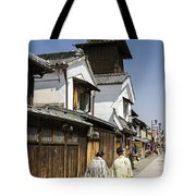 Kawagoe Bell Tower Tote Bag