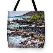 Keanae Lava Rock Tote Bag