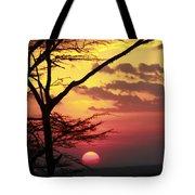 Kenyan Sunset Tote Bag