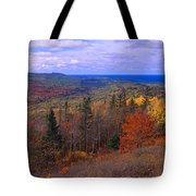 Keweenaw Peninsula And Copper Harbor Tote Bag