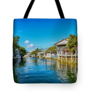 Key Largo Canal 3 Tote Bag