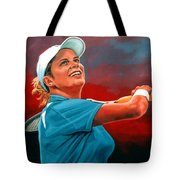 Kim Clijsters Tote Bag
