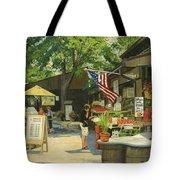 Kirkwood Farmers Market American Flag Tote Bag