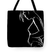 Kiss Me Goodnight Tote Bag