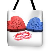 Kisses From The Heart Tote Bag