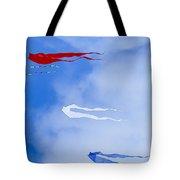 Kites On Ice Tote Bag
