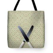 Knives Tote Bag