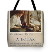 Kodak Advertisement, 1914 Tote Bag