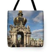 Kronentor Zwinger Dresden  Tote Bag