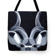 Kudu Black Tote Bag