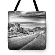 Kyle Canyon Road Tote Bag