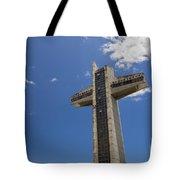 La Cruz Del Vigia Against Blue Sky In Ponce Puerto Rico Tote Bag