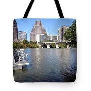 Lady Bird Lake Tote Bag