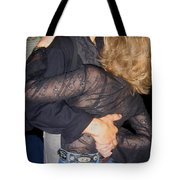 Lady For A Night Homage 1942 Dancers Crystal Palace Saloon Tombstone Arizona 2004 Tote Bag