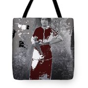 Lady Soldier Unknown Mexico Location 1905-1910-2014 Tote Bag