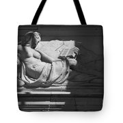 Lady With The Book Tote Bag by Four Hands Art