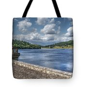 Ladybower Dam Tote Bag