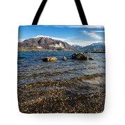 Lago Di Pusiano Tote Bag