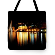 Lake At Night Tote Bag