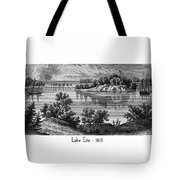 Lake Erie - 1815 Tote Bag
