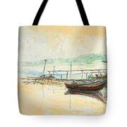 Lake Impression Tote Bag