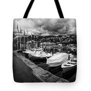 Lake Maggiore Bw Tote Bag