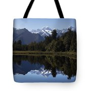 Lake Matheson New Zealand Tote Bag