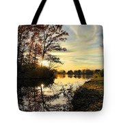 Lake Wausau Sunset Tote Bag