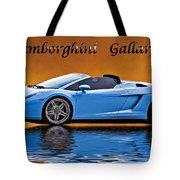 Lamborghini Gallardo Tote Bag