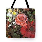 Lancaster Flowers Tote Bag