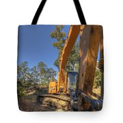 Cat Excavator  Tote Bag