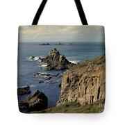 Seascape Lands End Tote Bag