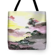 Landscape 1 Tote Bag by Anil Nene