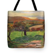 Landscape From Bretagne Tote Bag