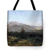 Landscape In Dauphine Tote Bag