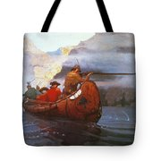 Last Of The Mohicans, 1919 Tote Bag