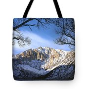 Laurel Mt And Convict Lake Sierra Tote Bag