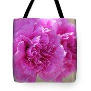 Lavender Carnations Tote Bag