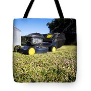 Lawn Mower Tote Bag